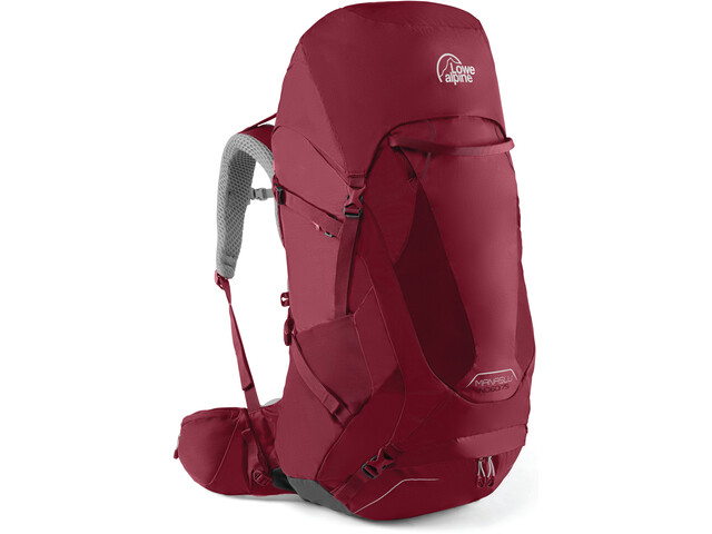 Lowe Alpine Manaslu Backpack ND60l Dam raspberry